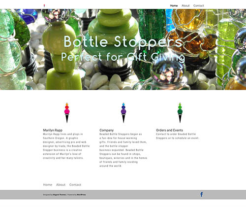 Bottle Stopper Website